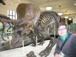 Christa and Triceratops